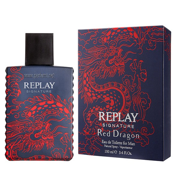 Replay Signature Red Dragon EDT parfum for men - 100ml