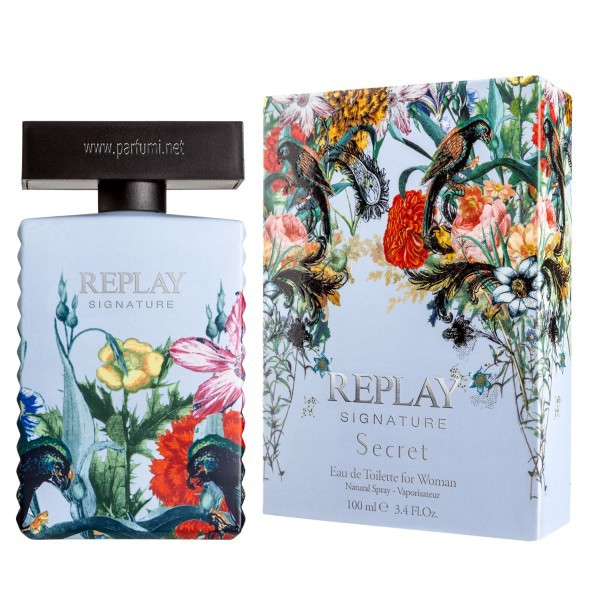 Replay Signature Secret EDT парфюм за жени - 100ml