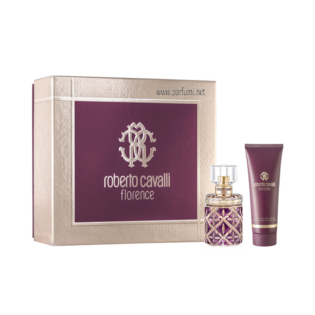 Roberto Cavalli Florence Set for women - 50ml EDP+75ml lotion