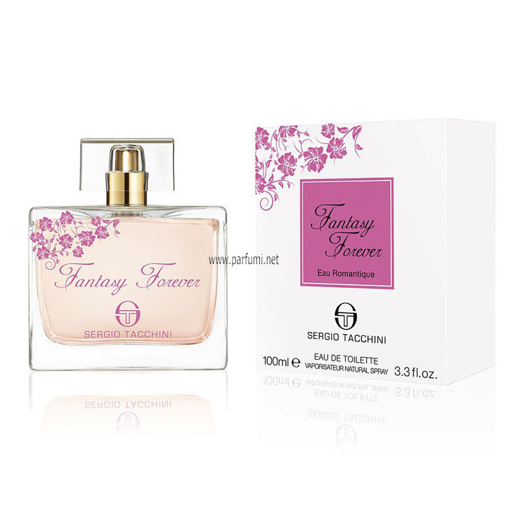 Sergio Tacchini Fantasy Forever Eau Romantique EDT for women - 100ml.