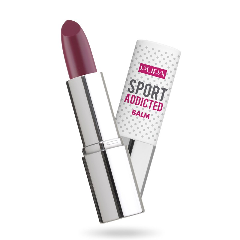 Pupa Sport Addicted Балсам за устни Burgundy 003