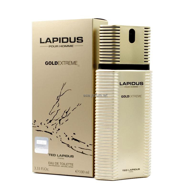 Ted Lapidus Gold Extreme EDT for men -100ml