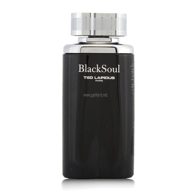 Ted Lapidus Black Soul EDT for men -without package- 100ml