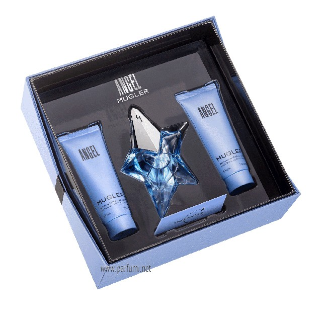 Thierry Mugler Angel Комплект за жени-25ml EDP+50ml BL+50SG