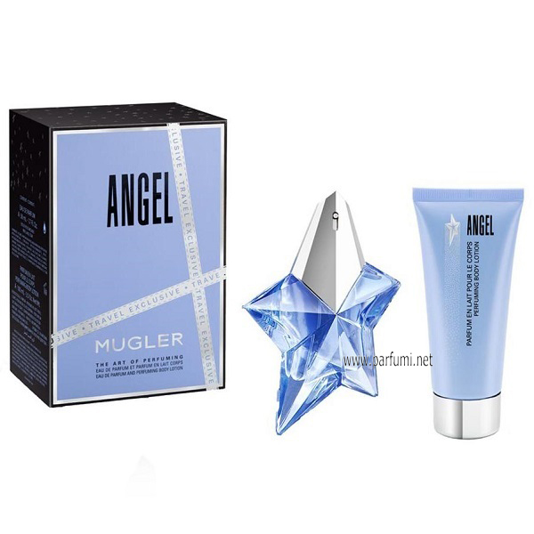 Thierry Mugler Angel Комплект за жени-50ml EDP+100ml BL