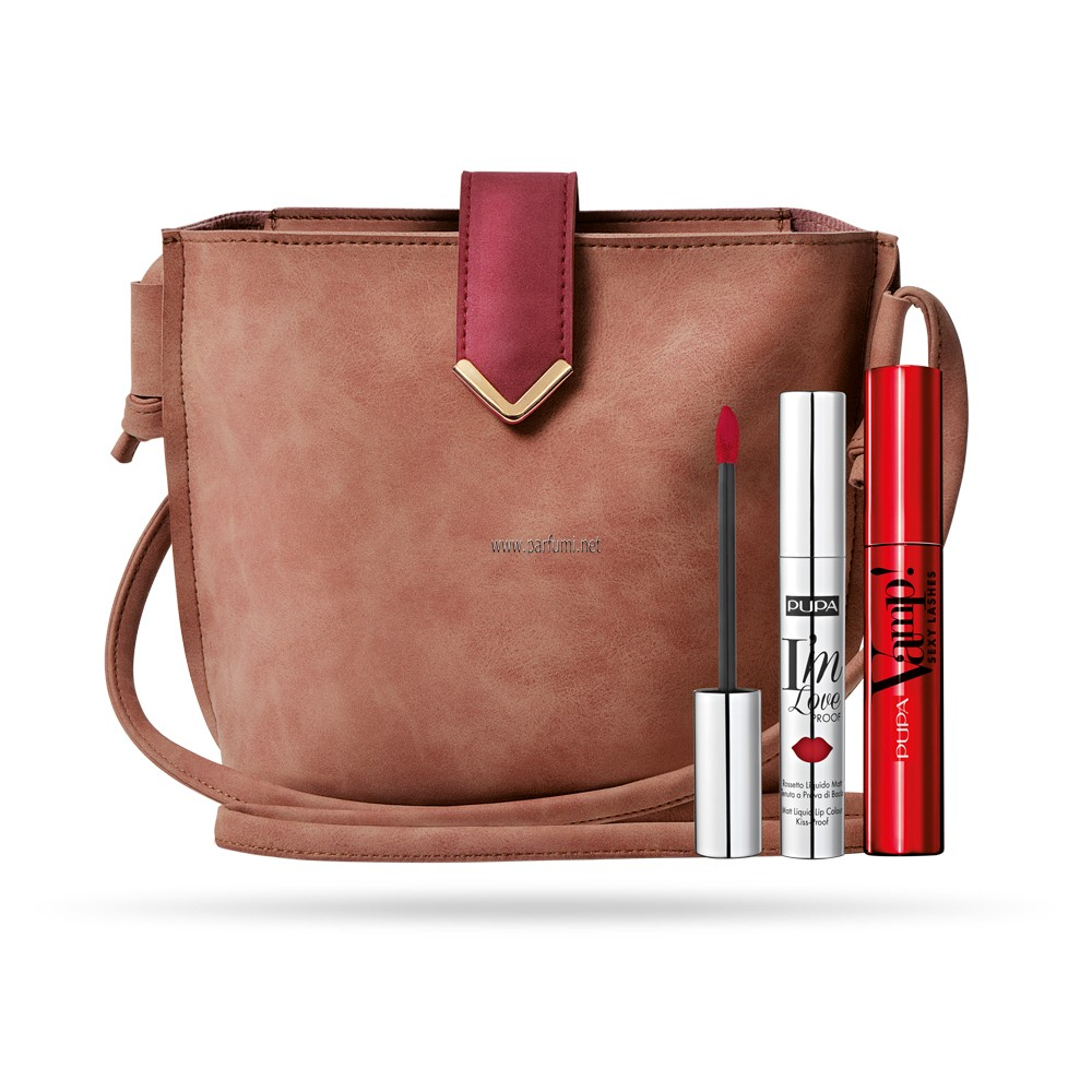 Pupa VAMP! Set Sexy Lasches Mascara+ Lip Loverproof+bag