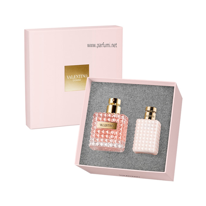 Valentino Donna Gift set for women 100ml EDP + 100ml Body Lotion