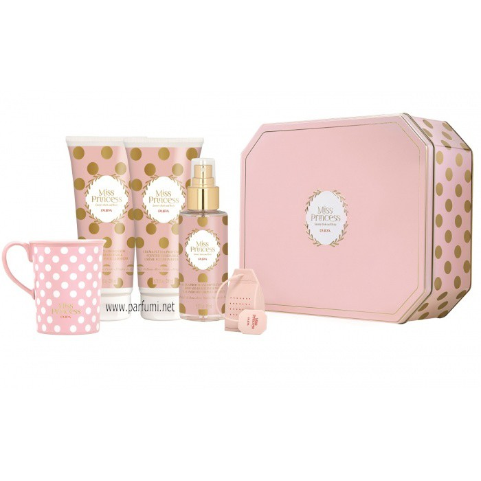 Pupa Miss Princess XL Set Tin Box Rose Petals