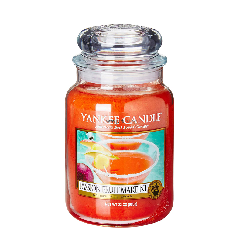 Yankee Candle Passion Fruit Martini Ароматна Свещ 623 гр.