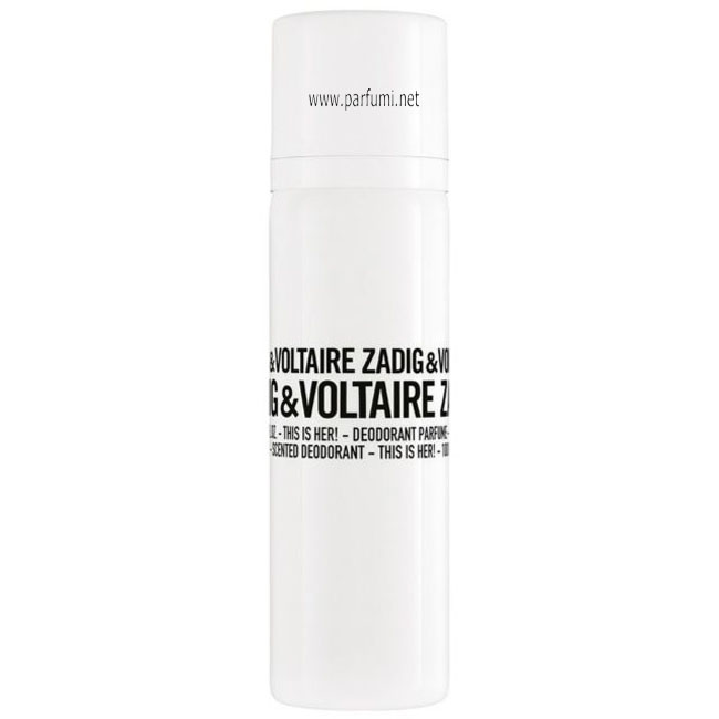 Zadig&Voltaire This is Her Deodorant Spray for women - 100ml