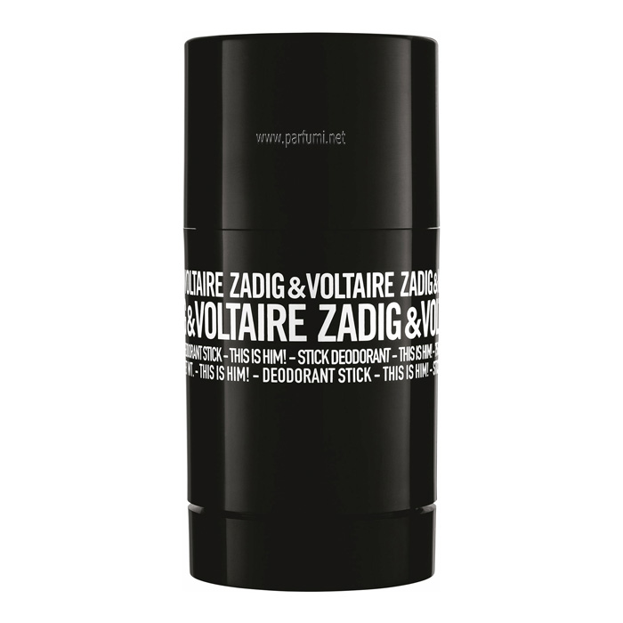 Zadig&Voltaire This is Him Део Стик за мъже - 75ml