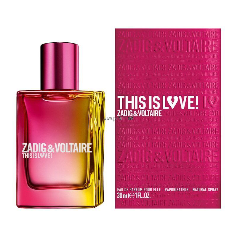 Zadig&Voltaire This is Love EDP парфюм за жени - 30ml