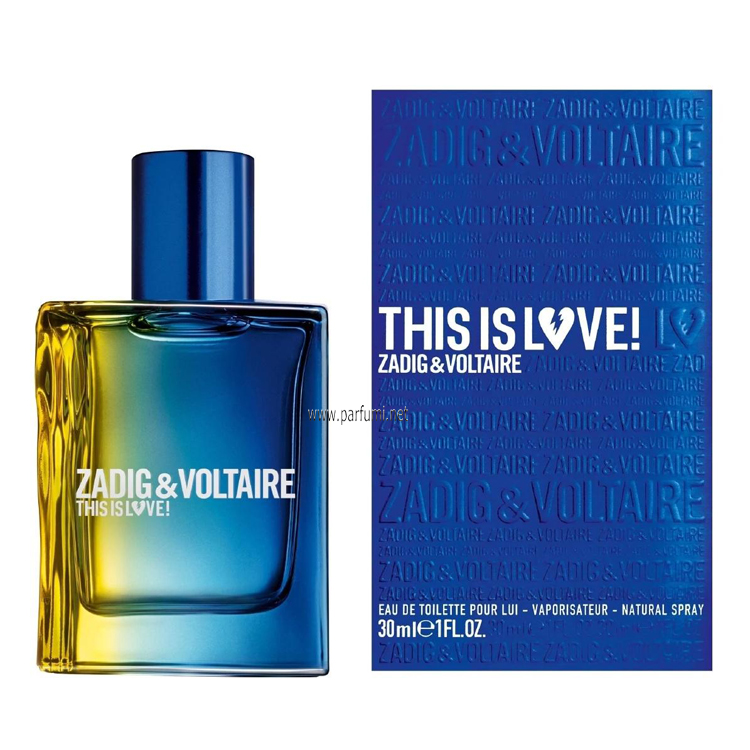 Zadig&Voltaire This is Love Him EDT за мъже - 30ml