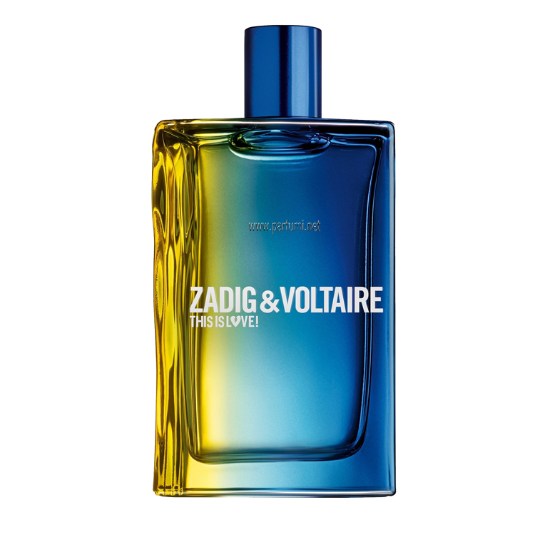 Zadig&Voltaire This is Love Him EDT за мъже - без опаковка - 100ml