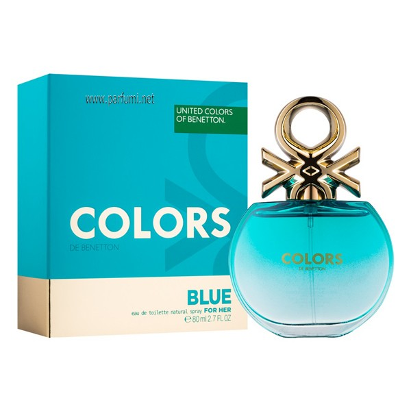 Benetton Colors de Benetton Blue EDT за жени - 80ml.