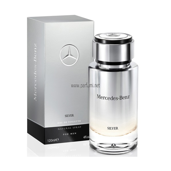 Mercedes-Benz Silver for Men EDT за мъже - 120ml