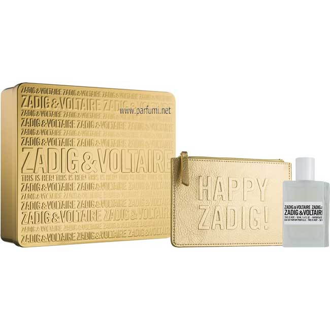 Zadig&Voltaire This is Her Комплект за жени 50ml EDP + кожен несесер