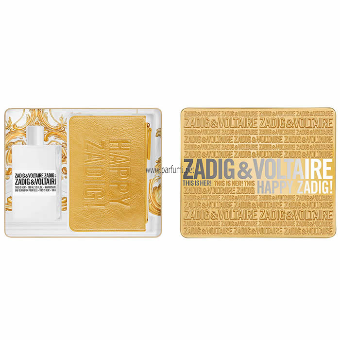 Zadig&Voltaire This is Her Комплект за жени 100ml EDP + кожен несесер