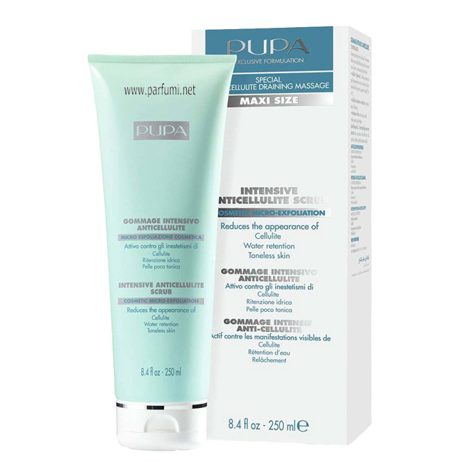 Pupa Intense anti-cellulite scrub - 250ml